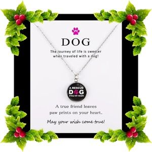 Jewelry - Dog rescue necklace